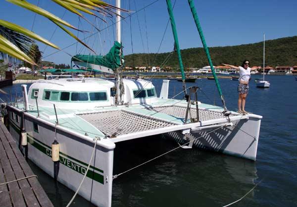 ~Carried away catamaran    dory hull catamaran trawler ...