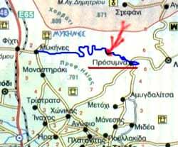 Detalhe do mapa